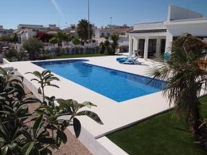 Leie hus i spania med basseng